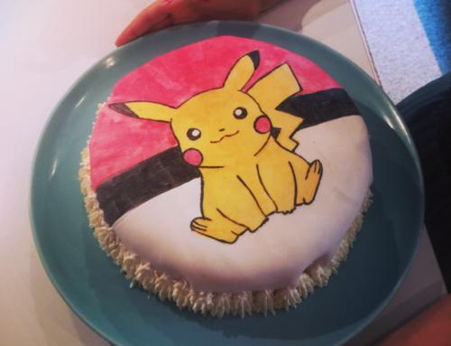 Pikachu-tårta
